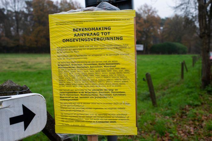 Het openbaar onderzoek naar de omgevingsvergunning voor het rioleringsproject liep van 2 oktober tot 4 november. Verschillende bewoners van de Mostheuvellaan dienden bezwaar in bij de gemeente