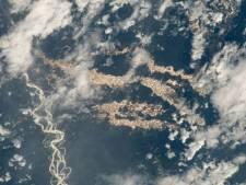 """""""Rivières d'or"""" en Amazonie: ce cliché impressionnant pris par la NASA cache un véritable fléau"""