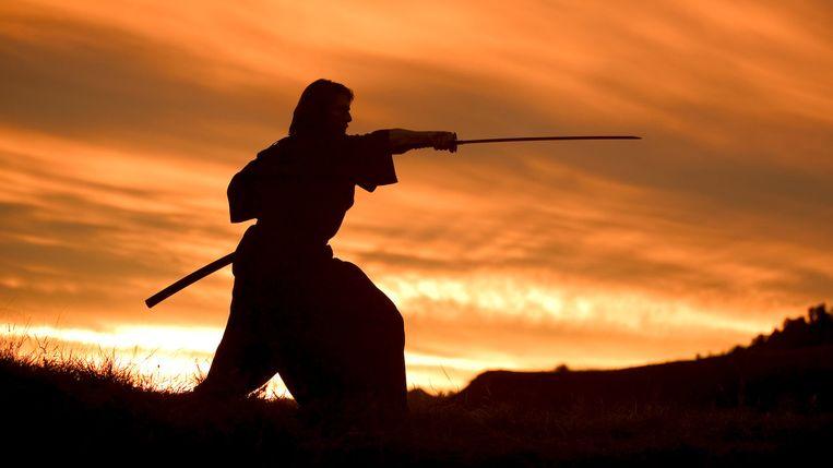 Tom Cruise in The Last Samurai van Edward Zwick Beeld