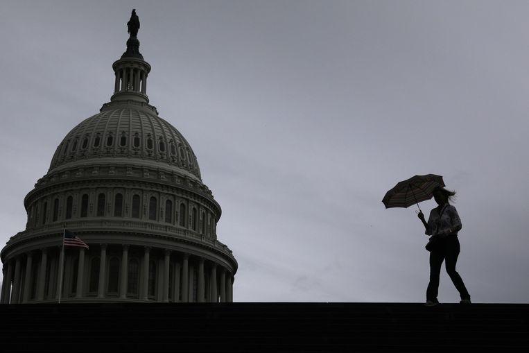 Op donderdag zal in het Congres de eerste belangrijke getuige worden gehoord door de onderzoekscommissies die kijken of president Trump moet worden afgezet.  Beeld null