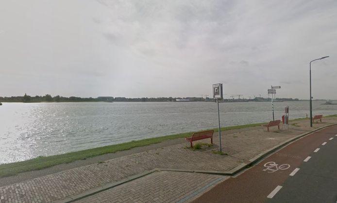 De Rivierdijk in Boven-Hardinxveld.