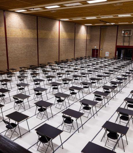 Eindexamens zijn dit jaar in het raadhuis, de Brabanthallen en heel veel extra gymzalen