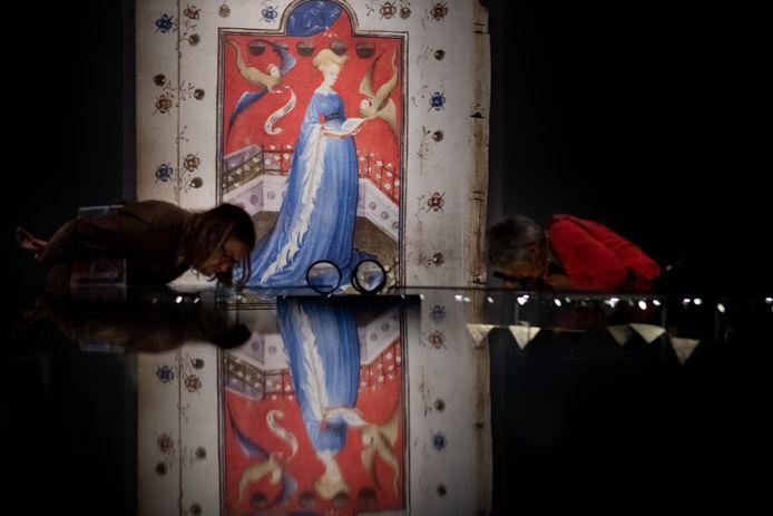 Een topper in 2018-2019: de tentoonstelling 'Ik, Maria van Gelre', waarbij de originele miniaturen uit het middeleeuwse Gelderse gebedenboek tentoon werden gesteld.