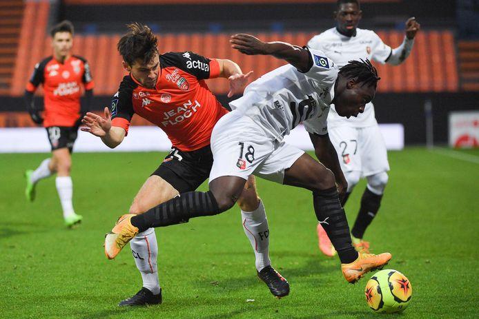Deuxième assist en cinq jours pour Jérémy Doku avec Rennes.