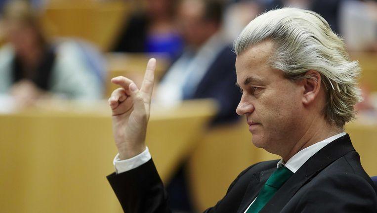 PVV-voorman Geert Wilders Beeld ANP