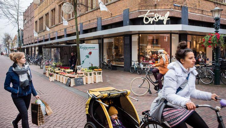 De vestiging van Topshelf in Alkmaar staat op de tocht. Personeel is geadviseerd op zoek te gaan naar ander werk. Beeld null