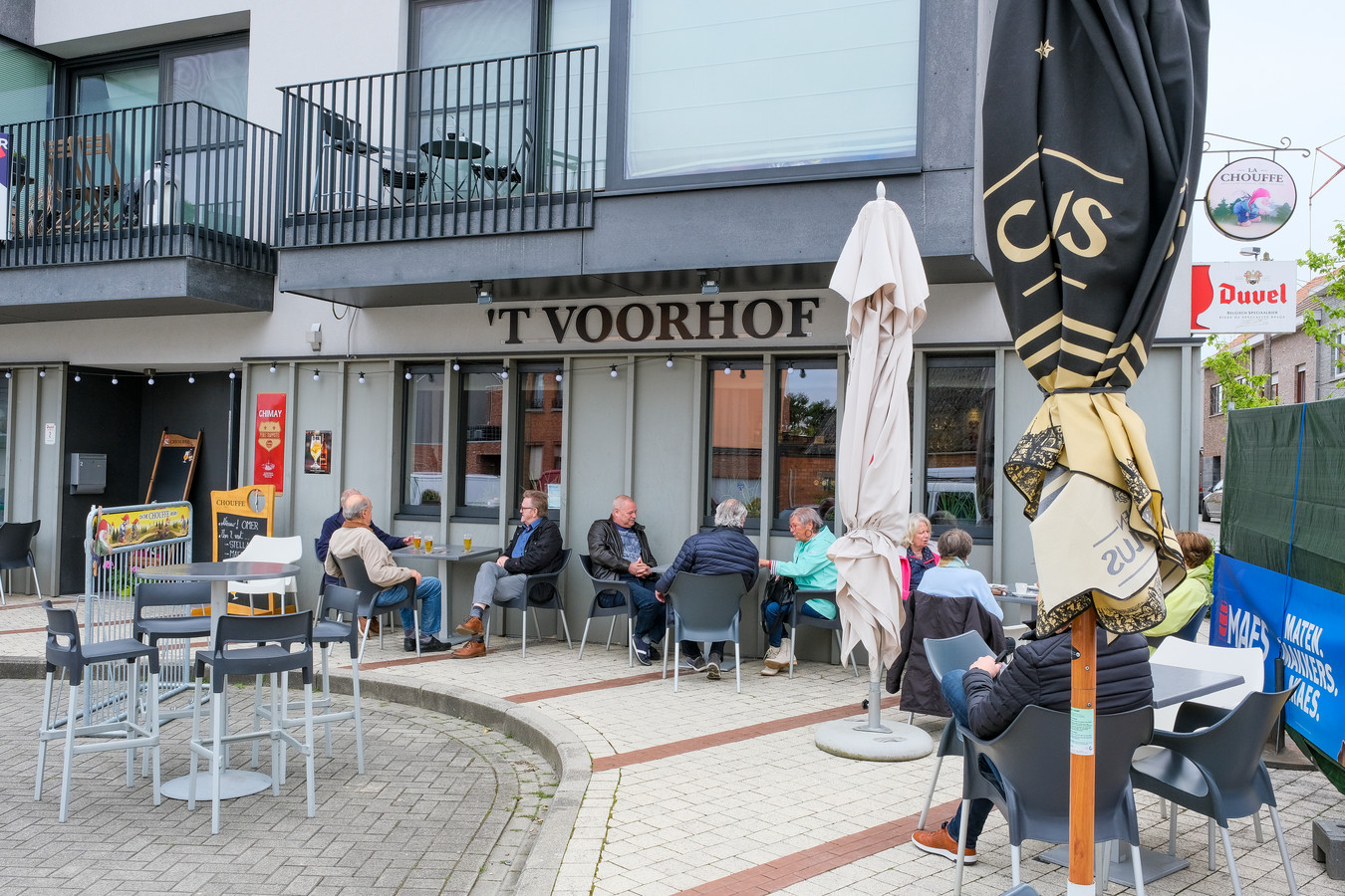 Terras van 't Voorhof.
