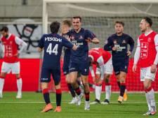 Helmond Sport lijdt duur puntenverlies na discutabele strafschop voor MVV