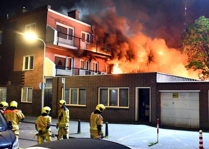 Archiefbeeld: De brand brak in de nacht van 20 mei uit.
