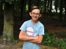Thomas (11) uit Lieshout klaar voor Nijmeegse Vierdaagse: 'Gelukkig nog nooit blaren gehad'
