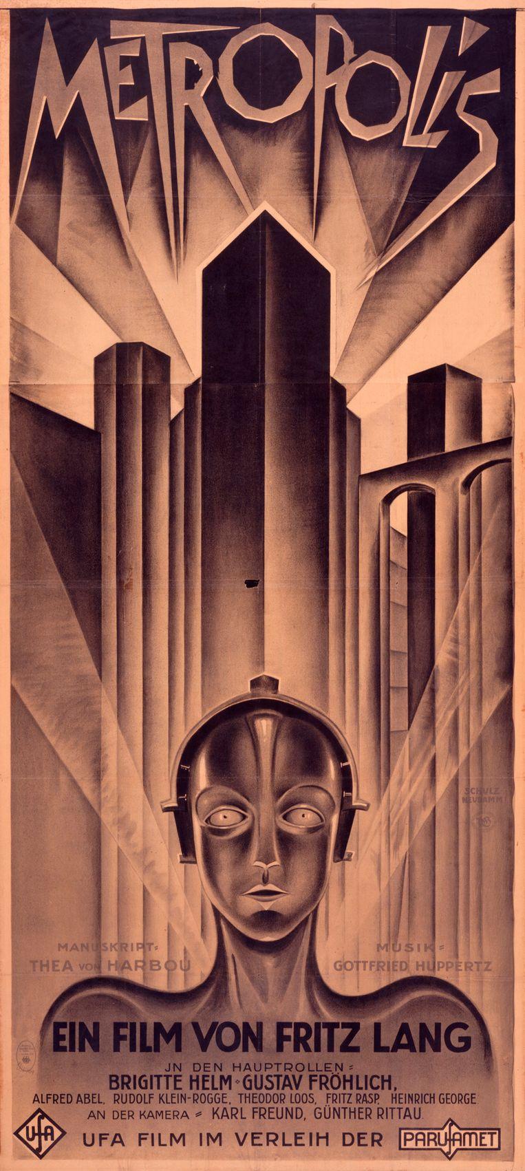 Metropolis, 1927. Beeld EYE film museum