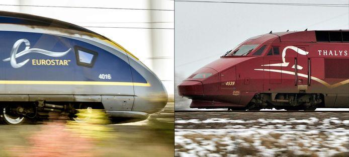 Les marques Eurostar et Thalys devraient fusionner.