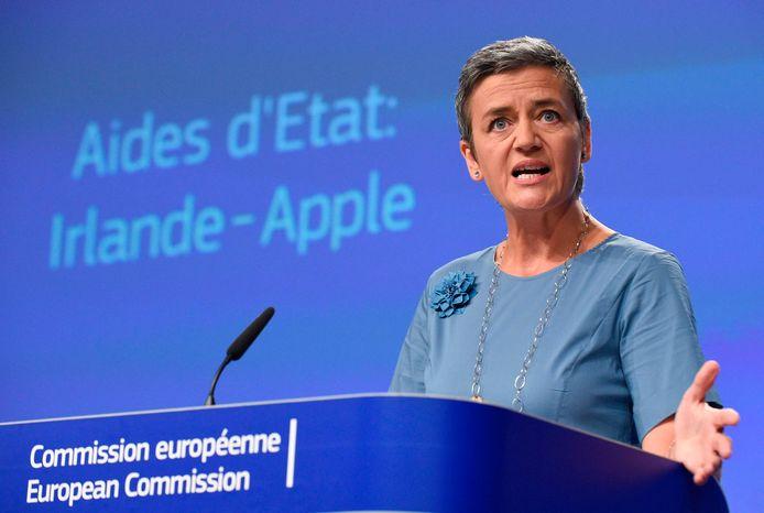 Margrethe Vestager,  la commissaire européenne à la Concurrence