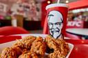 De beroemde gefrituurde kip van KFC. Foto ter illustratie.