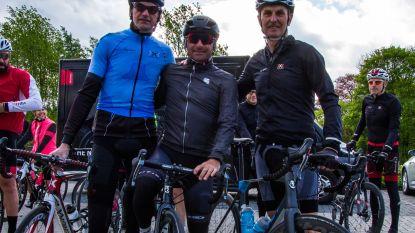 Met gewezen topwielrenner Paolo Bettini op de fiets om bedreigde diersoorten te redden