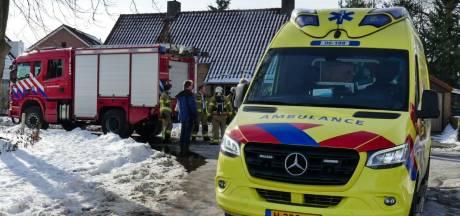 Vrouw gewond bij woningbrand in 't Harde