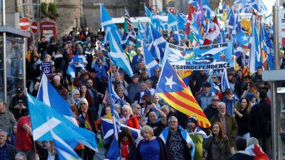 Twintigduizend Schotten op straat voor onafhankelijkheid