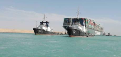Boskalis blikt terug op monsterklus in Suezkanaal: 'Sneller kon écht niet'