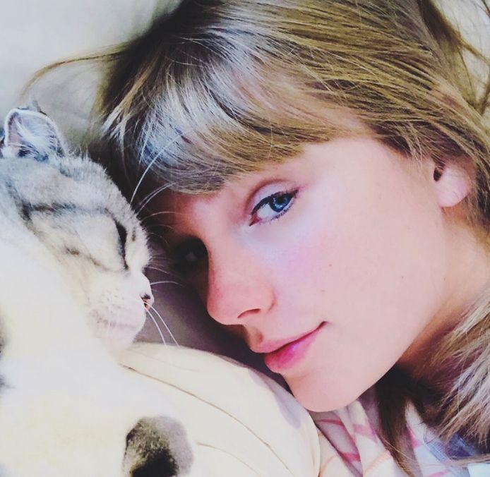 Taylor Swift is gek op haar katten.