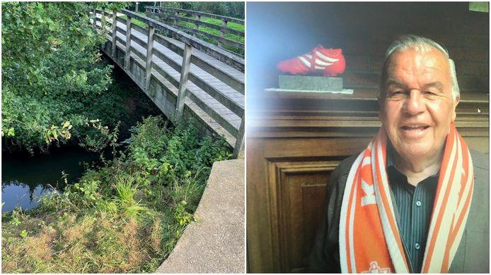 Jacques Destadsbader (84) uit Moorsele stierf aan een brugje over de Heulebeek.