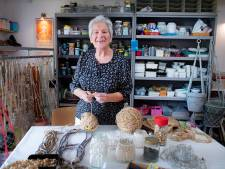'Vrouwtje Touwtje' Wil macrameet er op los in haar Nijmeegse 'atelier De garage'