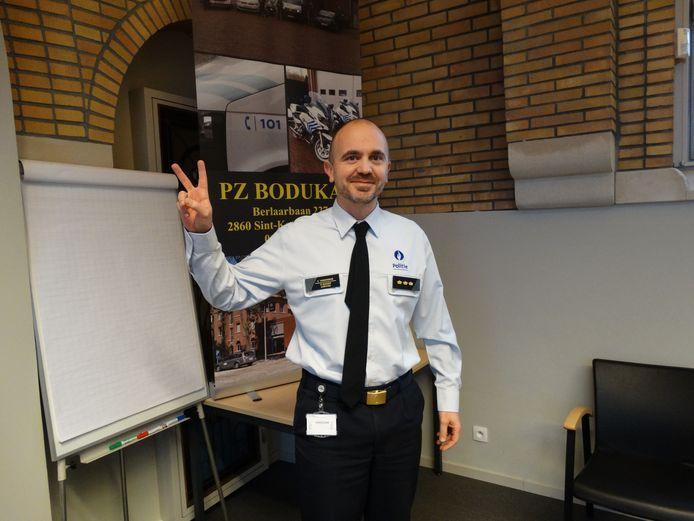 Kris Vandenberk is de nieuwe korpschef van politiezone Bodukap