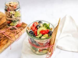 Wat Eten We Vandaag: Pastasalade to go