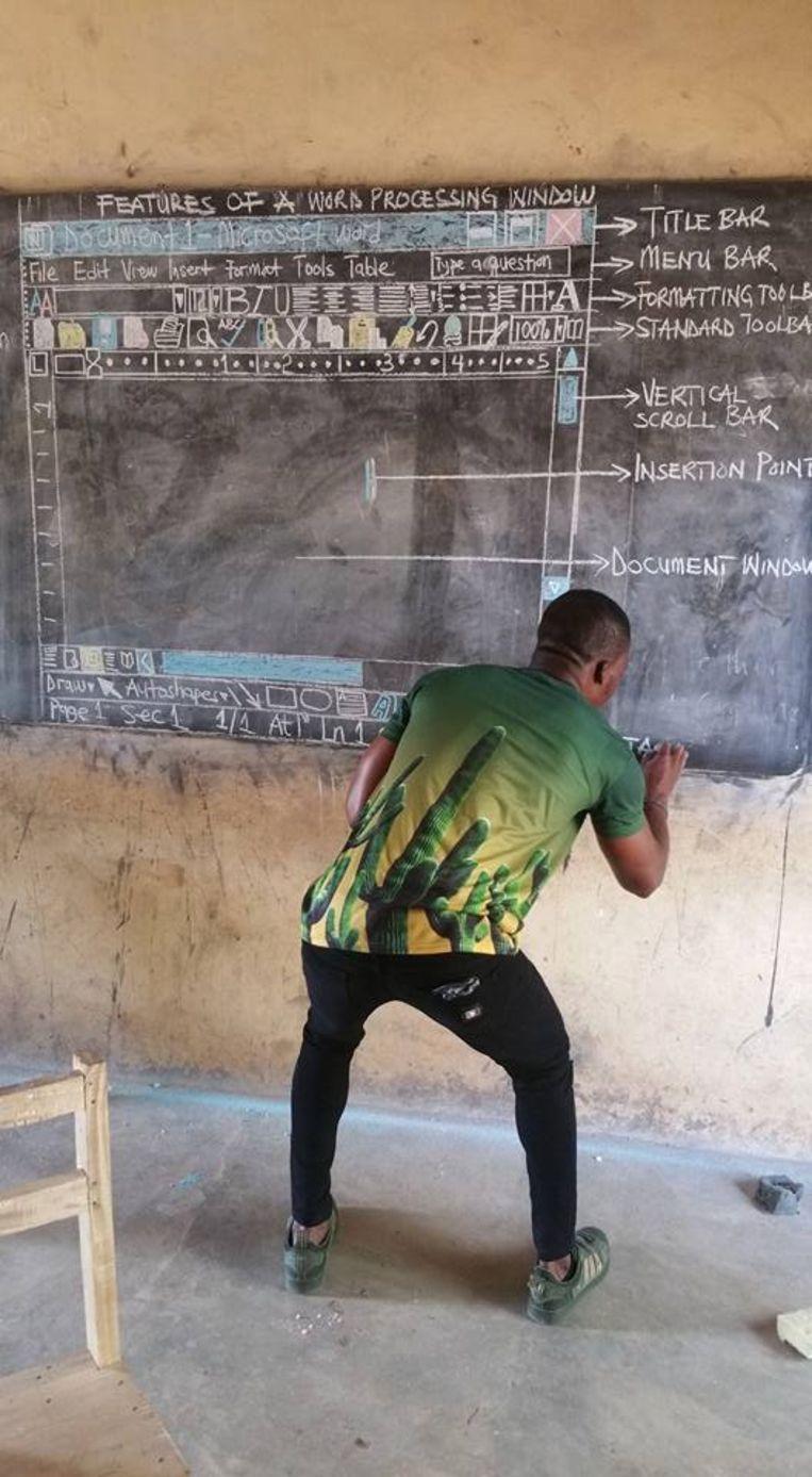 Kwadwo geeft ICT