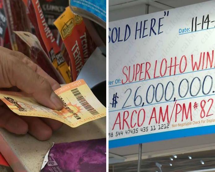 Elle gagne 26 millions de dollars à la loterie mais perd son billet dans sa machine à laver.