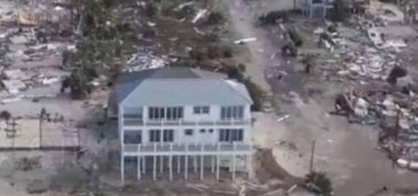 Eén huis trotseert orkaan Michael met verve
