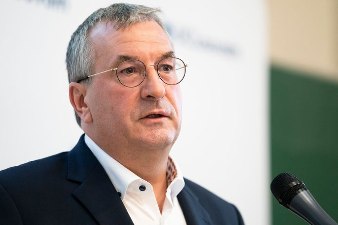 Pierre-Yves Jeholet (MR), minister-president van de Franse Gemeenschap
