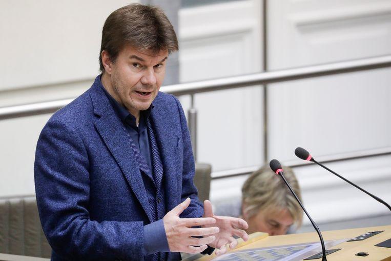 Vlaams Mediaminister Sven Gatz (Open Vld)