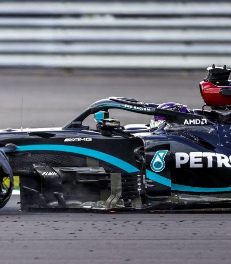 Verstappen tweede na krankzinnig slot: voorbanden Bottas én Hamilton gaan lek
