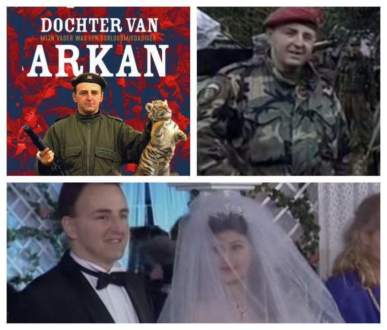 Sofie Van Pottelsberghe heeft haar ervaringen gebundeld in het boek 'Dochter van Arkan'. De oorlogsmisdadiger trad in 1995 in het huwelijk met een bekende Servische zangeres.