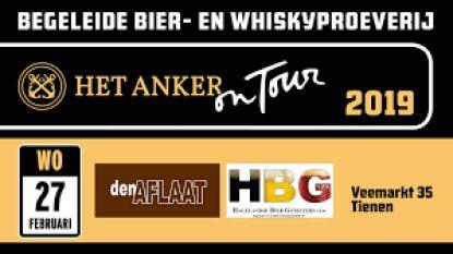 Begeleide bier-en whiskyproeverij in Den Aflaat