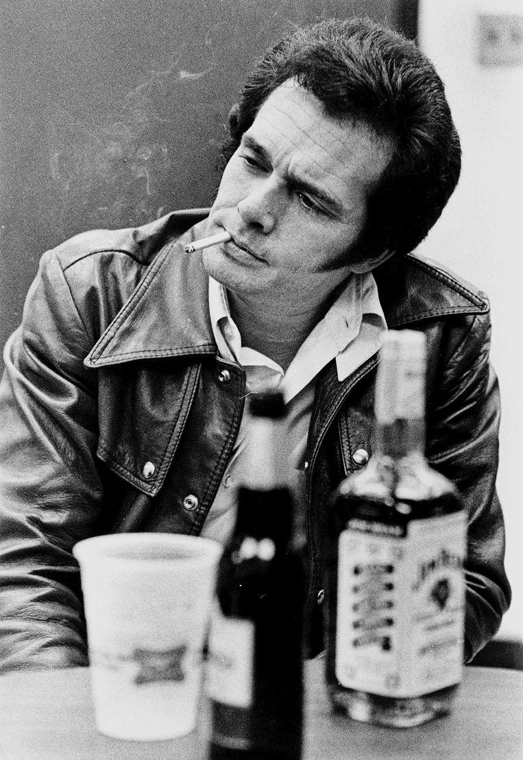 Merle Haggard in 1972. Beeld Photo News