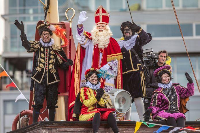 Intocht Sinterklaas, vorig jaar.