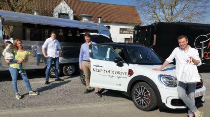 """Bistro 't Verschil levert voortaan aan huis met mini en privéchauffeur: """"Door de coronacrisis moet je jezelf elke dag heruitvinden"""""""