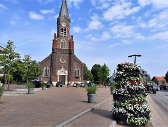 """De Bouwdoos zorgt in juli voor een tijdelijke herinrichting van het Ruienplein: """"Weer het natuurlijke hart van onze dorpskern"""""""