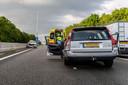 Ongeval A27 bij Oosterhout