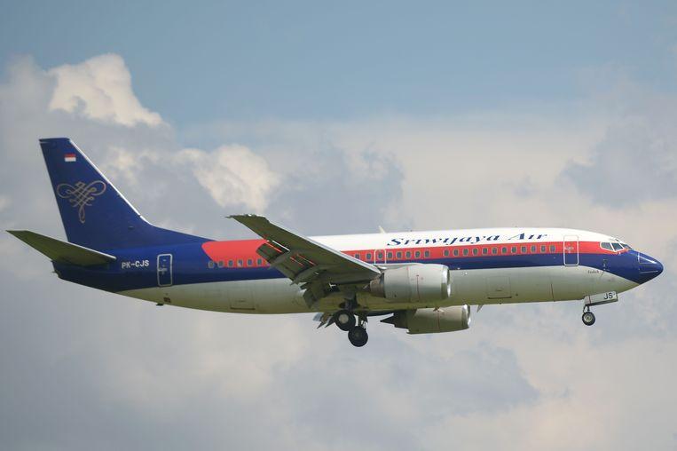 Een vliegtuig van luchtvaartmaatschappij Sriwijaya Air. Beeld AFP