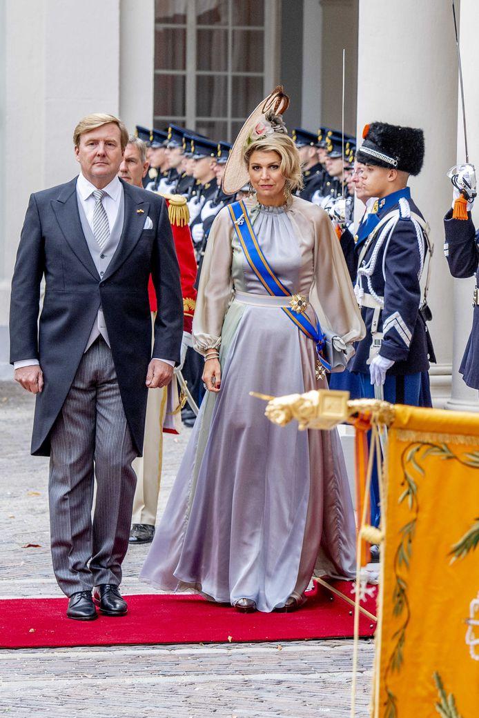 Koning Willem-Alexander en koningin Maxima.