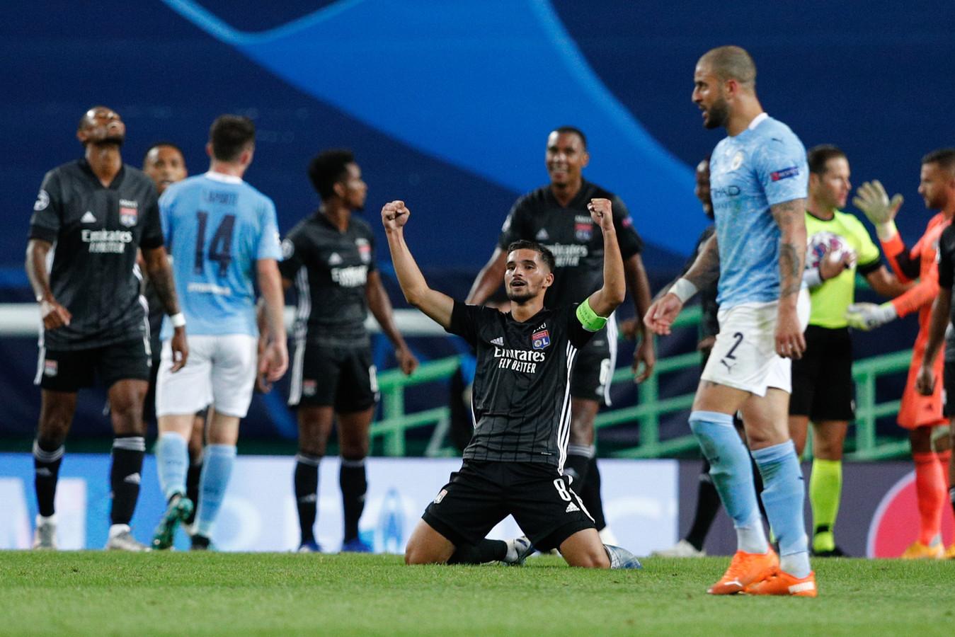 Manchester City werd vorig jaar in de kwartfinale van de CL met 3-1 verslagen door Olympique Lyon.