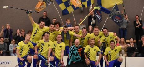 Zweedse studenten brachten Tilburg Floorball