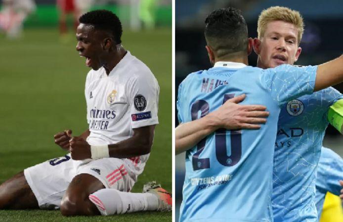 Le Real et Man City prennent une option