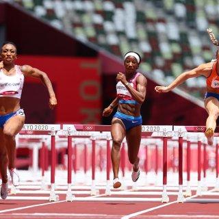 Visser baalt na 'fout' in finale 100 meter horden: 'Gemiste kans op een medaille'
