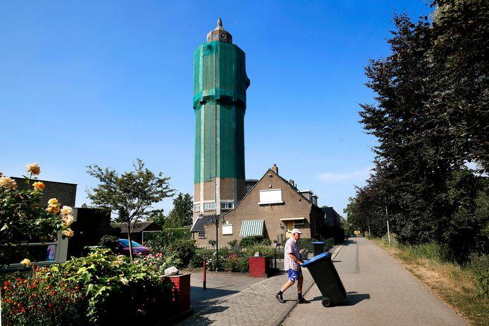 De watertoren in Leerdam.