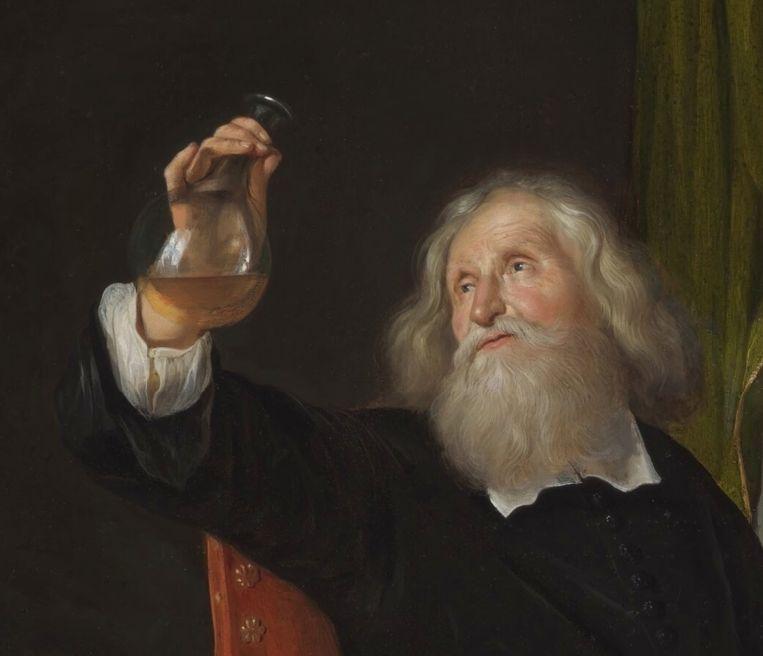 Jacob Toorenvliet, Het doktersbezoek, 1666-67 [detail] Beeld The Leiden Collection