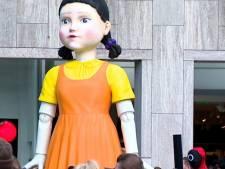 Totale gekte in centrum Rotterdam: iedereen wil meedoen aan Squid Game
