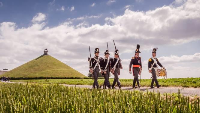 Nederland schromelijk vergeten bij herdenking Waterloo